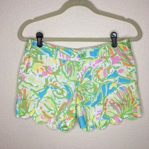 Lilly Pulitzer Buttercup Shorts Elephant Ears